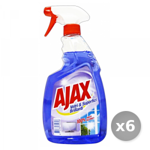 Set 6 AJAX Vetri  750 ml Detergenti Casa