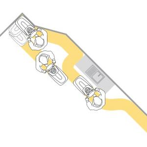 VISPA 35 B LAVASCIUGA LAVAPAVIMENTI PROFESSIONALE COMAC - Versione a Batteria