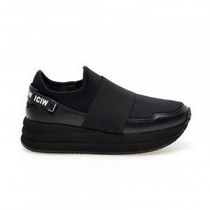 Sneaker running bassa nera Apepazza