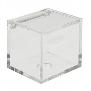 Cubo in Plexiglass cm.6x6x6h