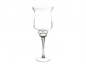 Vaso calice in vetro gigante cm.70h diam.28