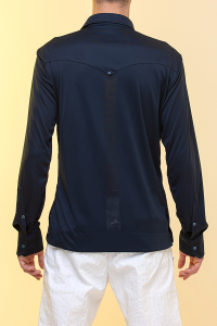 Guayabera Clubs 100% Bioceramic® navy blue