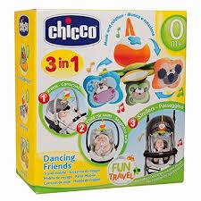 Giostrina portatile Dancing Friends adatto dalla nascita Chicco