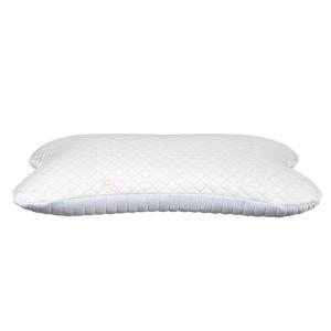 EVERGREENWEB - Cuscino per Dormire sul Fianco o Pancia in Memory Foam Ergonomico con Rivestimento Termoregolatore Sfoderabile, Guanciale Cervicale per Supporto Collo Ortopedico misura 45x75 alto 12 cm