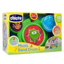 Gioco batteria musicale adatto ai bambini a partire dai 9m/36m  Chicco