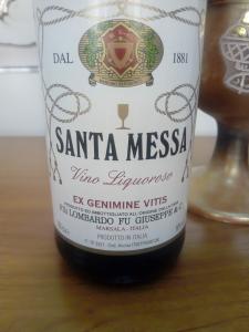 Vino Liquoroso bianco 16 gradi per uso Sacramentale