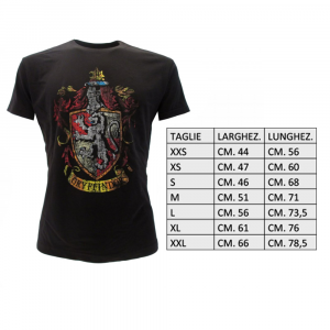 Harry Potter T-Shirt House Gryffindor da donna in rosso