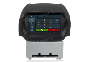 ANDROID 9.0 GPS DVD USB SD WI-FI Bluetooth Mirrorlink autoradio navigatore per Ford Ecosport 2013-2017