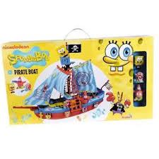 Galeone di Sponge Bob adatto ai bambini a partire dai 3 a Simba toys