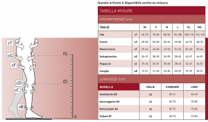 GAMBALETTO MEDICALE MULTIFIBRA ELECTA CCL1 P. APERTA - BY RO+TEN