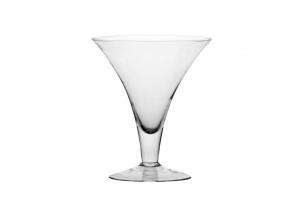 Coppa Martini grande in vetro cm.20h diam.16,5