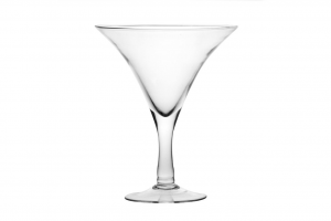 Coppa vaso Martini grande in vetro