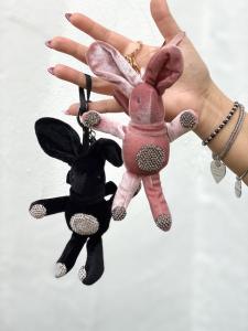 Portachiavi Coniglietto 2 colori Nalì