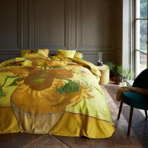 Copripiumino matrimoniale e federe BEDDING HOUSE Van Gogh Girasoli