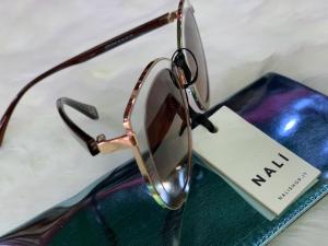Occhiali da Sole Oversize Metallo Nalì