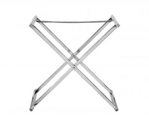Struttura porta vassoi in acciaio inox cm.57x46x58h