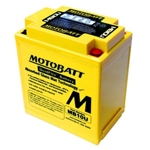 BATTERIA MOTOBATT SUPER PERFORMANTE 12V 14,5 AH 175 CCA MB10U E06001