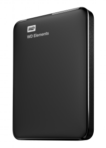 Western Digital WD Elements Portable disco rigido esterno 1000 GB Nero