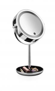 Macom SIRIO specchietto per trucco Libera installazione Rotondo Cromo