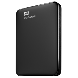 Western Digital WD Elements Portable disco rigido esterno 750 GB Nero