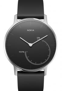 Nokia Steel 36 Braccialetto per rilevamento di attività Nero
