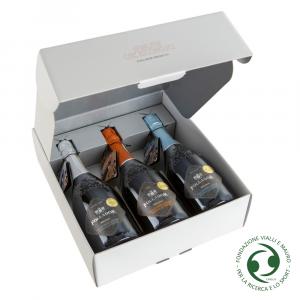 Confezione Regalo 3 Bottiglie Valdobbiadene Prosecco Superiore D.O.C.G.