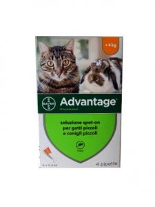 Advantage 40 Gatto e Conigli Bayer