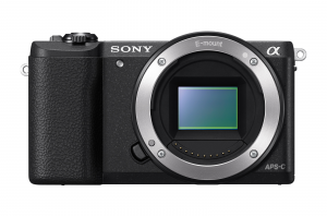 Sony Alpha 5100L, fotocamera mirrorless con obiettivo 16-50 mm, attacco E, sensore APS-C, 24.3 MP