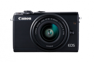 Canon EOS M100 + EF-M 15-45mm IS STM MILC 24,2 MP CMOS 6000 x 4000 Pixel Nero