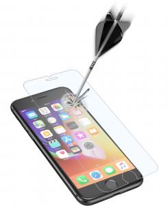 Cellularline Second Glass Ultra box da 3 pz - iPhone 8/7 3 Vetri temperati sottili, resistenti e super sensibili Trasparente