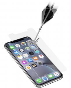 Cellularline Second Glass Ultra box da 3 pz - iPhone XR 3 Vetri temperati sottili, resistenti e super sensibili Trasparente