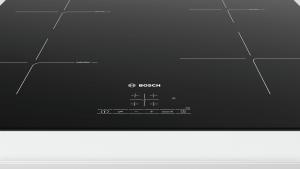 Bosch Serie 4 PUE611BB1E piano cottura Nero Incorporato Piano cottura a induzione Zoneless 4 Fornello(i)