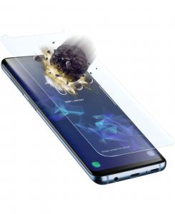 Cellularline Tetra Force Shield - Galaxy S9 Vetro temperato curvo, ultra resistente e sottile Trasparente