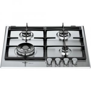 Whirlpool GMR 6422/IXL piano cottura Acciaio inossidabile Incorporato Gas 4 Fornello(i)