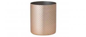 Bicchiere acqua in acciaio inox cl 45 oro inciso cm.9,5h diam.8,2