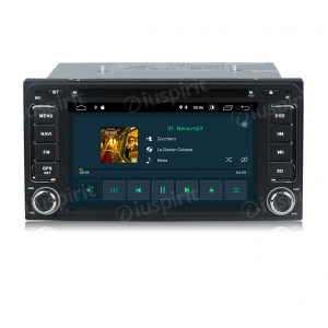 ANDROID 10 autoradio 2 DIN navigatore per Toyota Rav4 Corolla Alphard Innova Camry Land Cruiser Hilux Vios GPS DVD USB SD WI-FI Bluetooth Mirrorlink