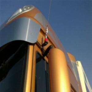 DAF Staffa per antenna CB (per DAF CF Fino anno 2006)