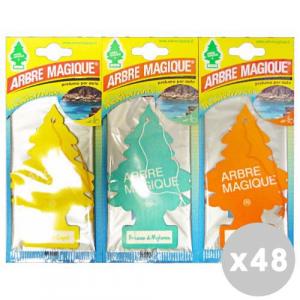 ARBRE MAGIQUE Set 48 ARBRE MAGIQUE Deodorante Mediterraneo Misto - Articoli Per auto