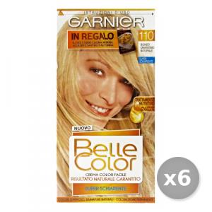 Set 6 BELLE COLOR 110 Biondo Chiarissimo Naturale Prodotti Per capelli