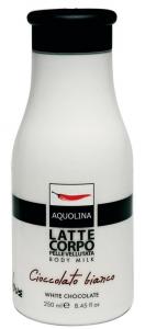 AQUOLINA Latte Corpo Cioccolato Bianco 250 ml - Cura del corpo