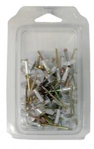 Rivetti Acciaio Inox Aisi 304 Mm 4,8X12 Pz 100 Utensileria Manuale