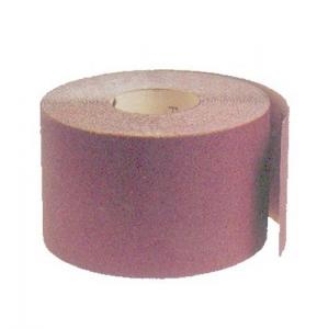 MAURER Set 50 Carta Abrasiva Resinata Rotolo Mm 120 Grana 220 Colori Carta Vetro