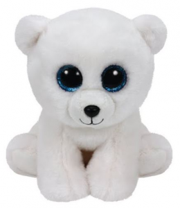 TY Beanie Babies 15Cm Arctic Animale Peluches Giocattolo 909