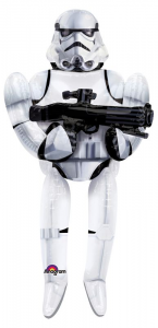 ANAGRAM Pallone Storm Trooper Star Wars 40 Foil Airwalker Adatti Per Elio 309