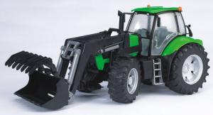 BRUDER Trattore Deutz Agrotron X720 Con Benna Mezzo Agricolo Gioco Maschio Bimbo 106