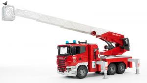 BRUDER Scania R Series Autopompa Pompieri Con Luci E Suono Mezzo Lavoro Gioco 507
