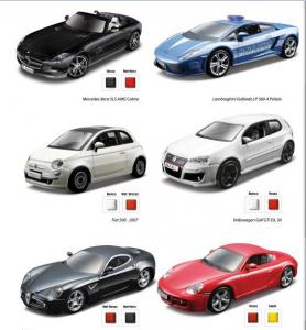 BBURAGO Collezione Auto Street Fire 1/32 Auto Modellismo Giocattolo 946