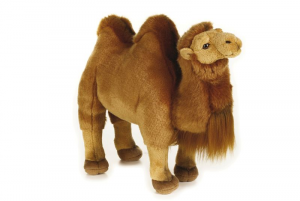 VENTURELLI Cammello Bactrian Ngs Animale Bosco Peluches Giocattolo 654