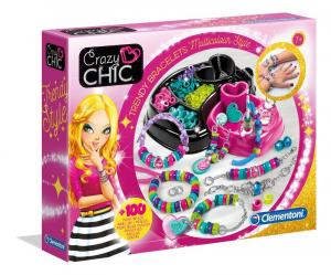 CLEMENTONI Crazy Chic Bracciali Multicolor Trucchi Bellezza Gioco Femmina Bimba 821