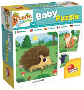 LISCIANI Carotina Baby Puzzle Il Bosco 893